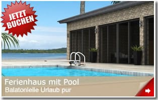 balaton ferienhaus mit pool ferienh user am plattensee mit swimmingpool. Black Bedroom Furniture Sets. Home Design Ideas