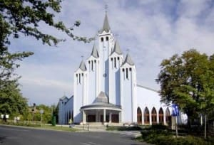 Heviz Kirche